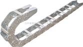 工程钢制拖链,桥上钢制拖链,穿线钢制拖链