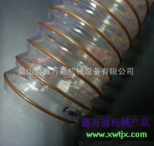广东聚氨酯超软风管,TPU塑筋螺旋增强软管,透明软管,奶高温风管、软管、接头系列