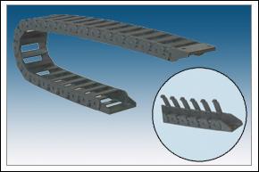 鼎力-桥式内(外)开盖工程塑料拖链