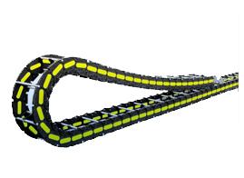 超长行程自滑行拖链