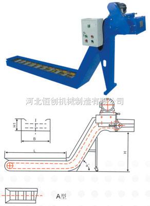 加工中心、数控机床刮板式排屑机,数控机床排屑机