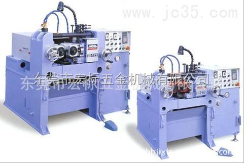 供应台湾原装进口固定/滚通两用精密液压式滚丝机