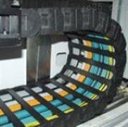 盐山尼龙拖链 桥式塑料拖链
