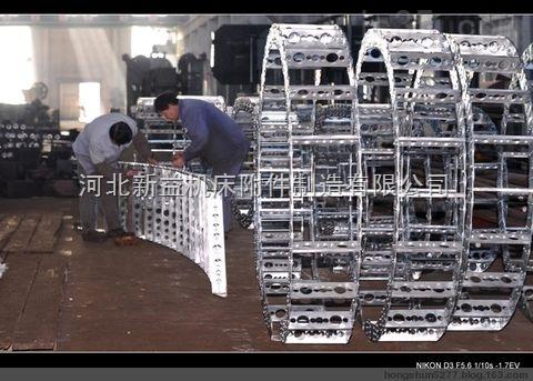 电缆油管输送防塌陷钢铝拖链介绍