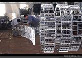高强度渗碳电缆穿线钢制拖链 钢制链条厂家批发