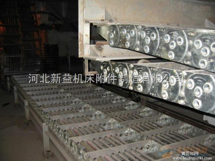 耐磨承重油管输送钢制拖链