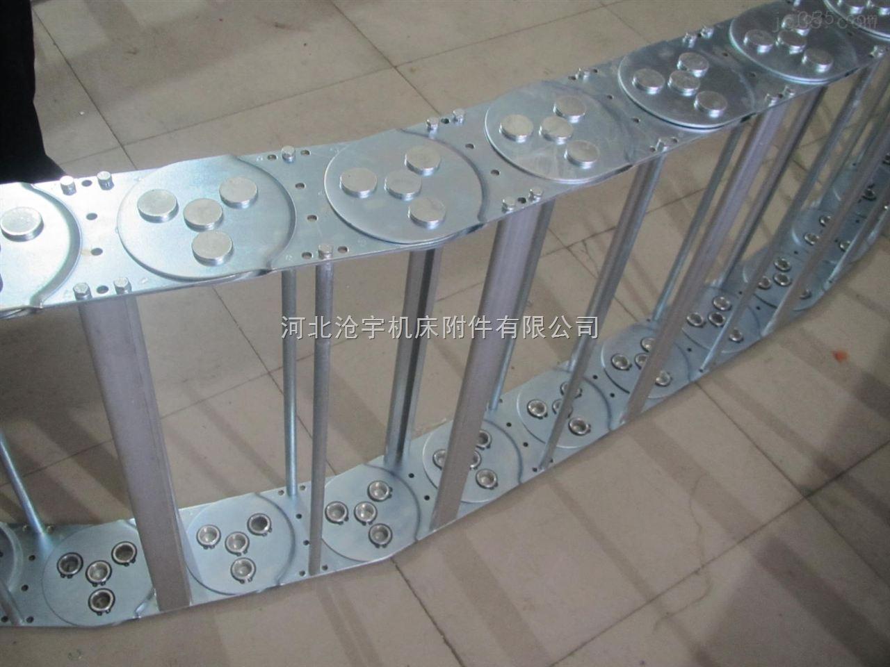 框架式耐磨损除尘加固型钢铝拖链