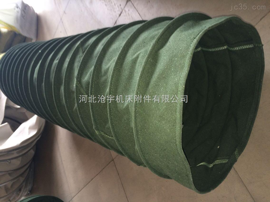 除尘耐磨双层帆布软连接供应