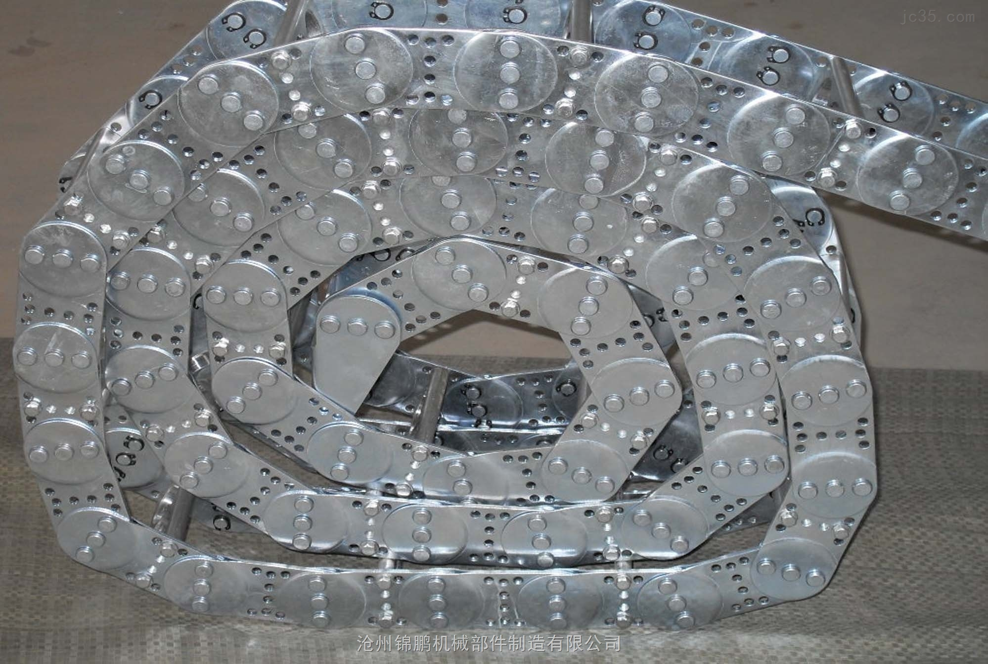 穿线钢铝机床拖链