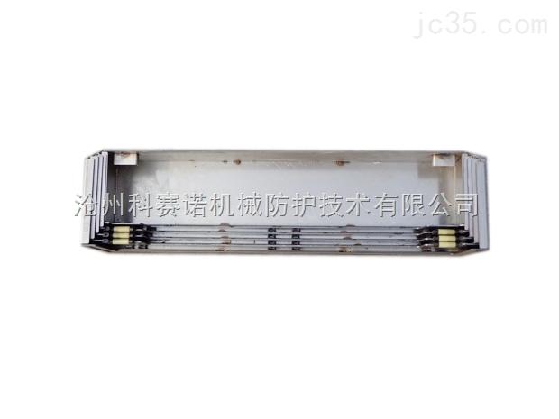 机床导轨防护罩生产厂来图订做机床钢板防护罩