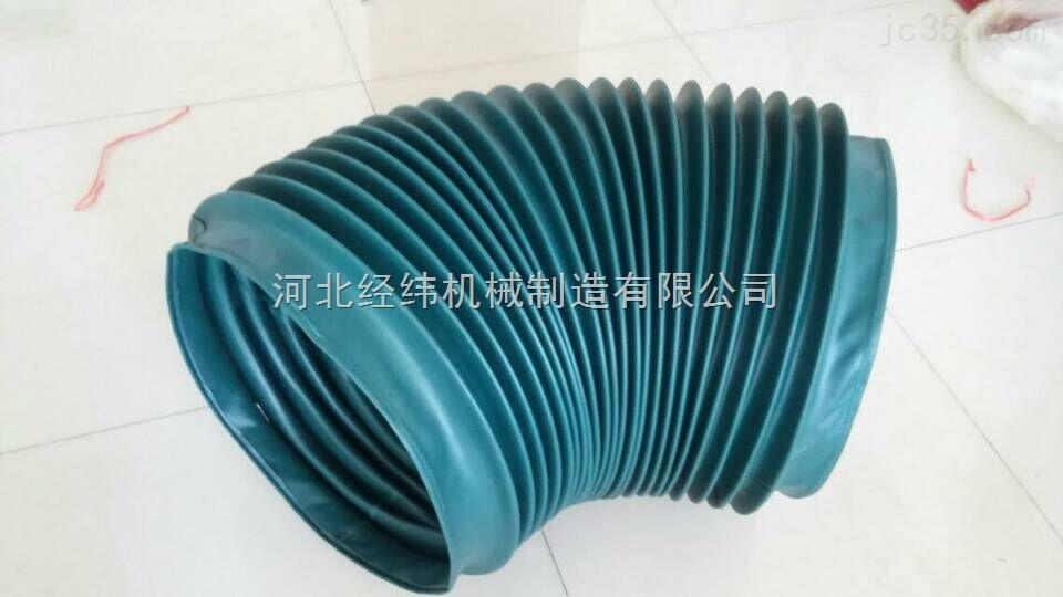 波纹式阻燃防油丝杠防护罩 圆形伸缩防护罩