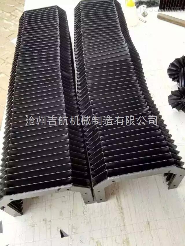 PVC骨架柔性风琴导轨防护罩