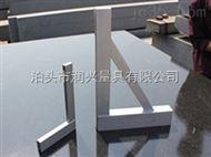 上海正品镁铝直角尺宽座直角尺90度直角尺0级直角尺