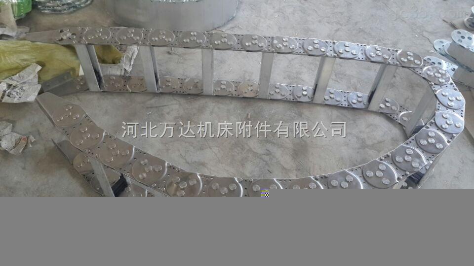 防噪音高性能除尘机床附件钢铝拖链