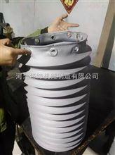 圓形高溫軟連接,硅膠布阻燃軟連接