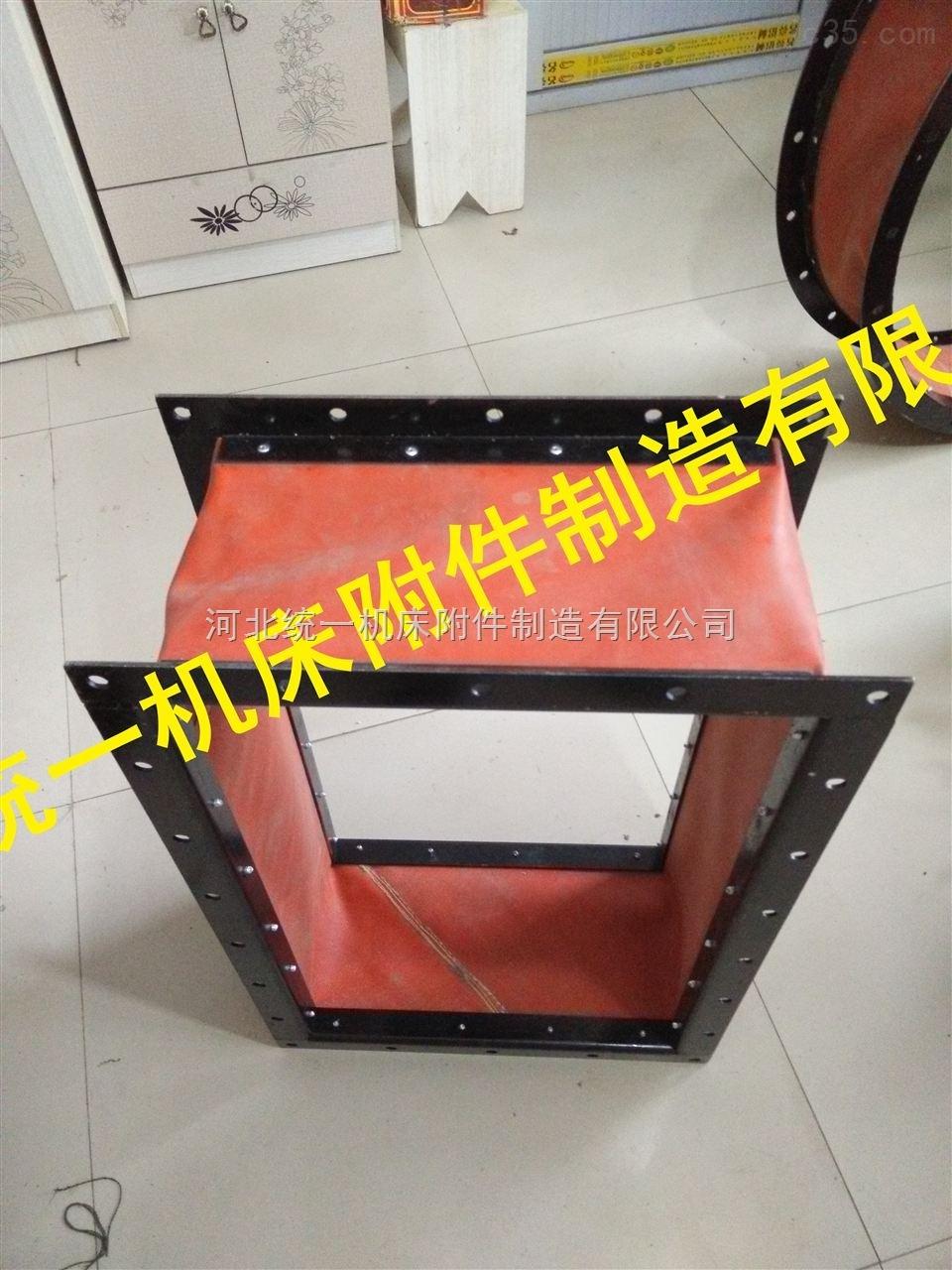 天津防震动帆布出风口软连接生产厂家
