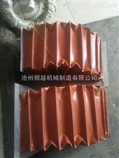 红色硅胶布软连接通风管生产厂家
