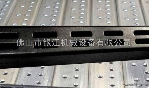 100PV-2液压数控锌钢护栏货架立柱自动冲孔机