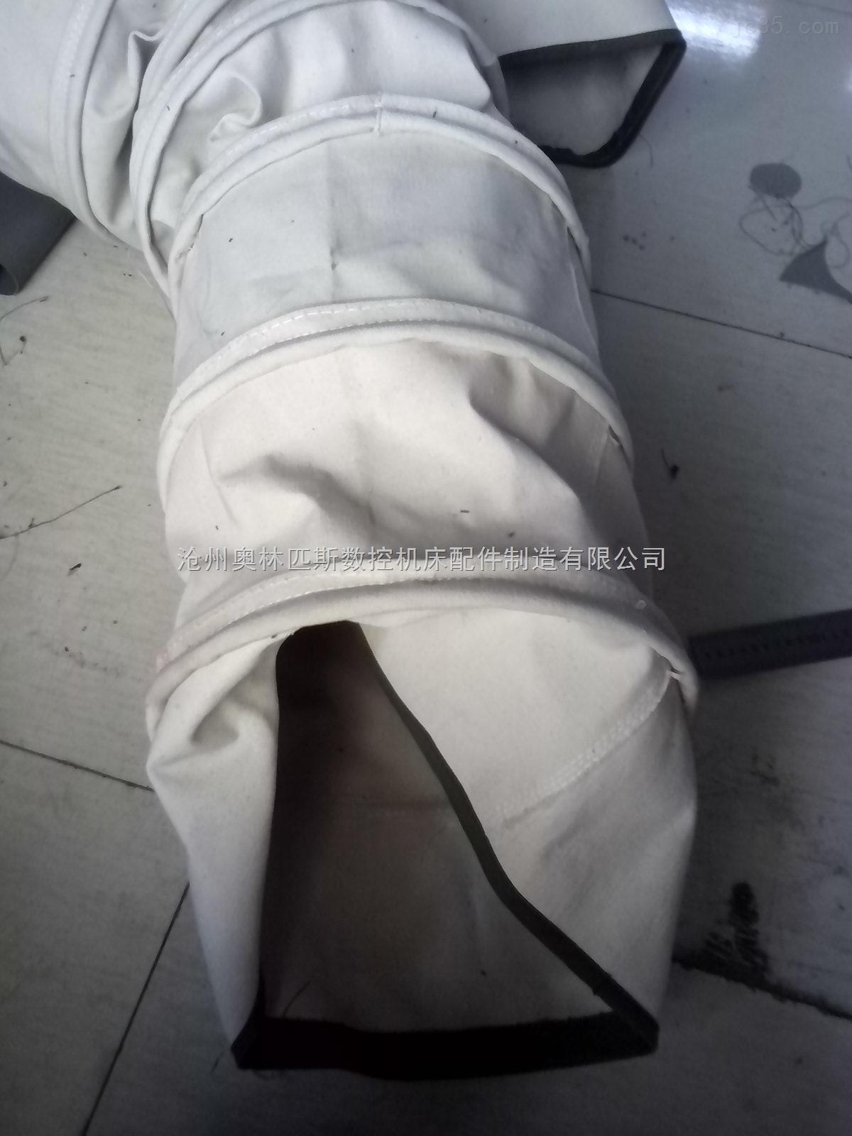 不怕磨损的水泥散装伸缩布袋