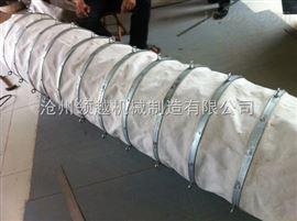搅拌机水泥散装帆布伸缩布袋耐用性强