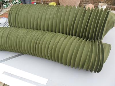 圆筒式通风机床帆布软连接