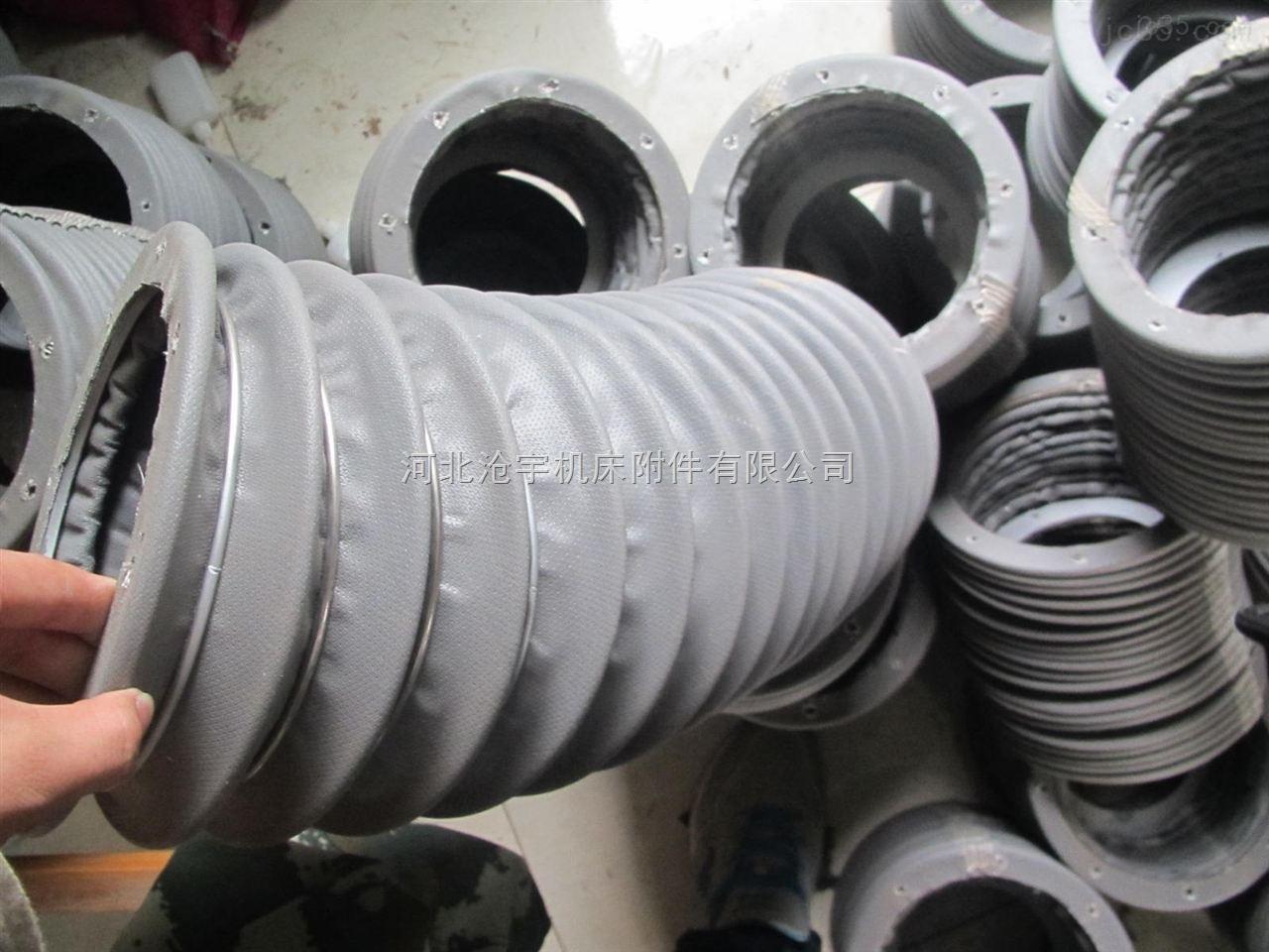 高难度除尘设备硅胶排风软连接