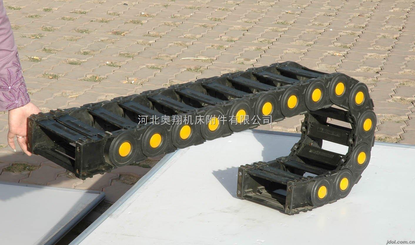 穿线机床塑料拖链厂