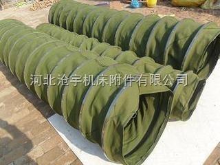 散装机水泥卸料口帆布布袋 输送布袋