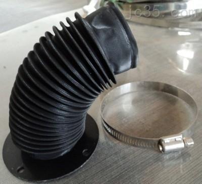 液压机伸缩黑色保护套机床专用护罩