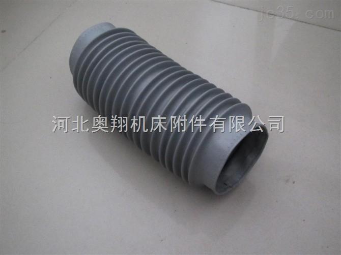 灰色耐酸碱伸缩防尘套