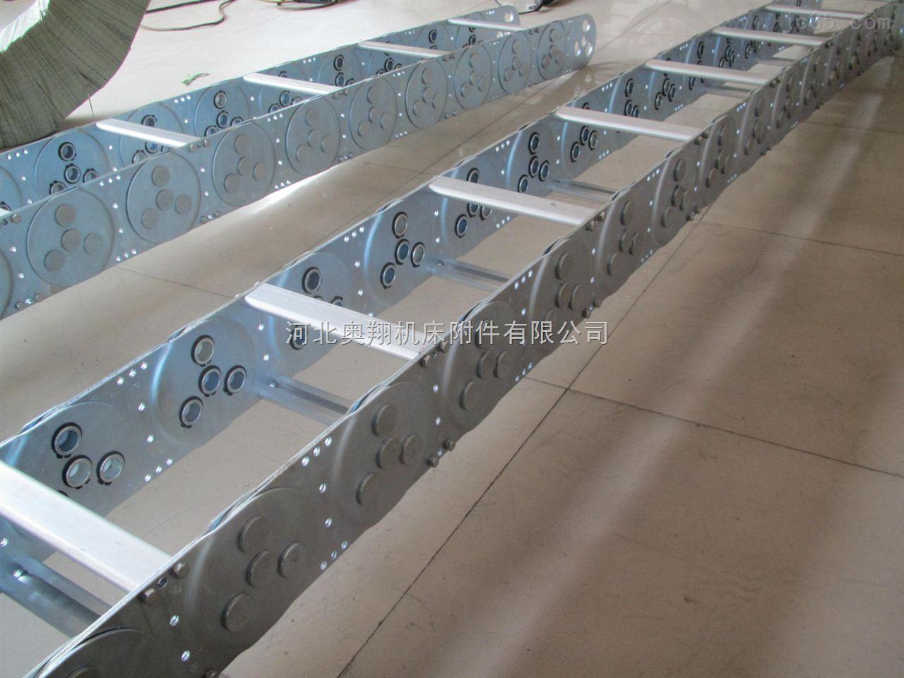高速静音耐高温钢铝拖链