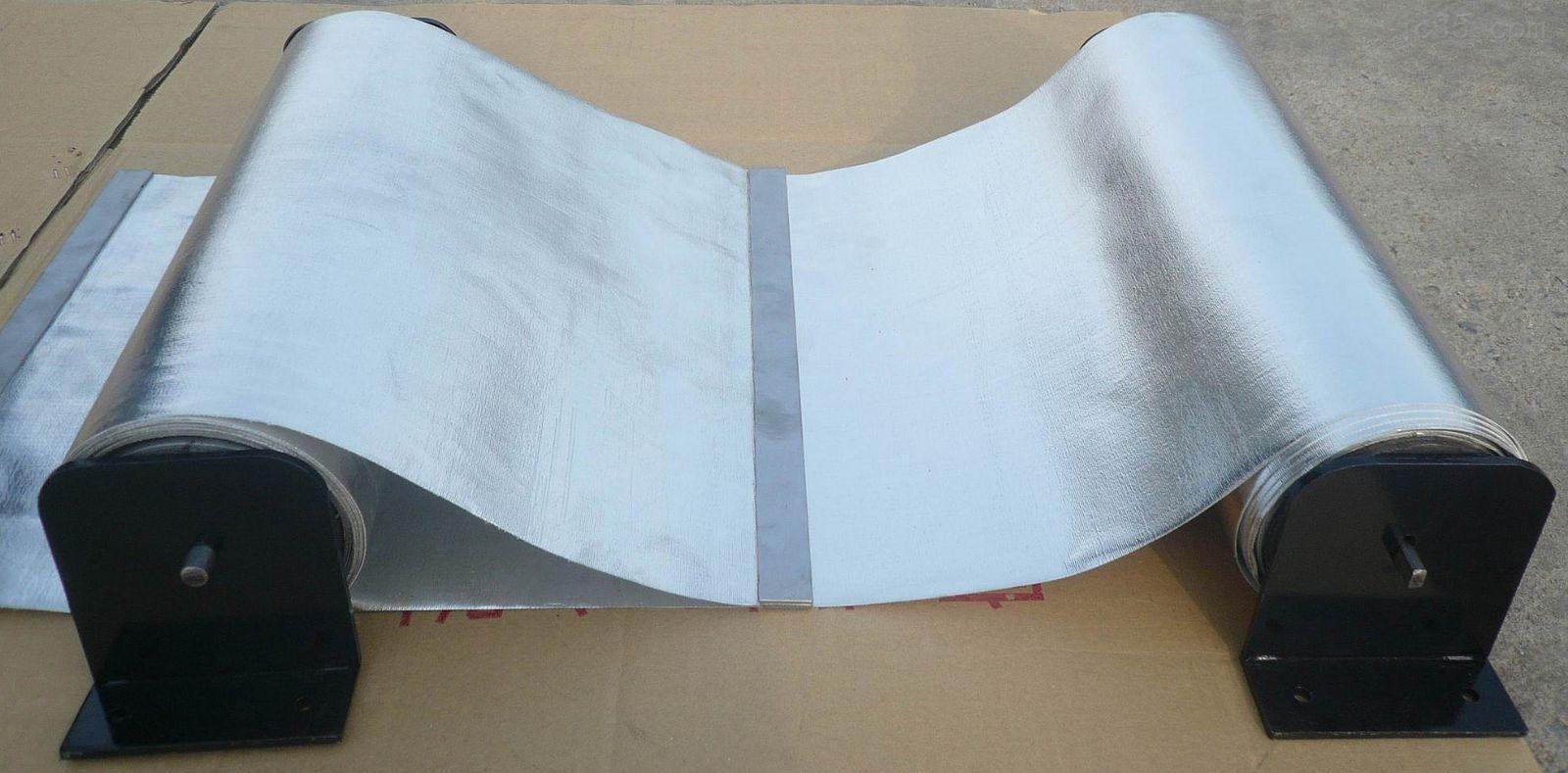 耐高温防漏支架式卷帘钢带防护罩
