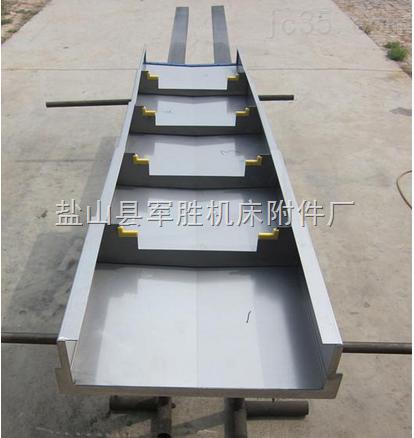 落地镗床钢板防护罩制作厂家