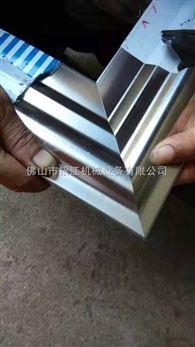 揭阳金属门框液压切角机