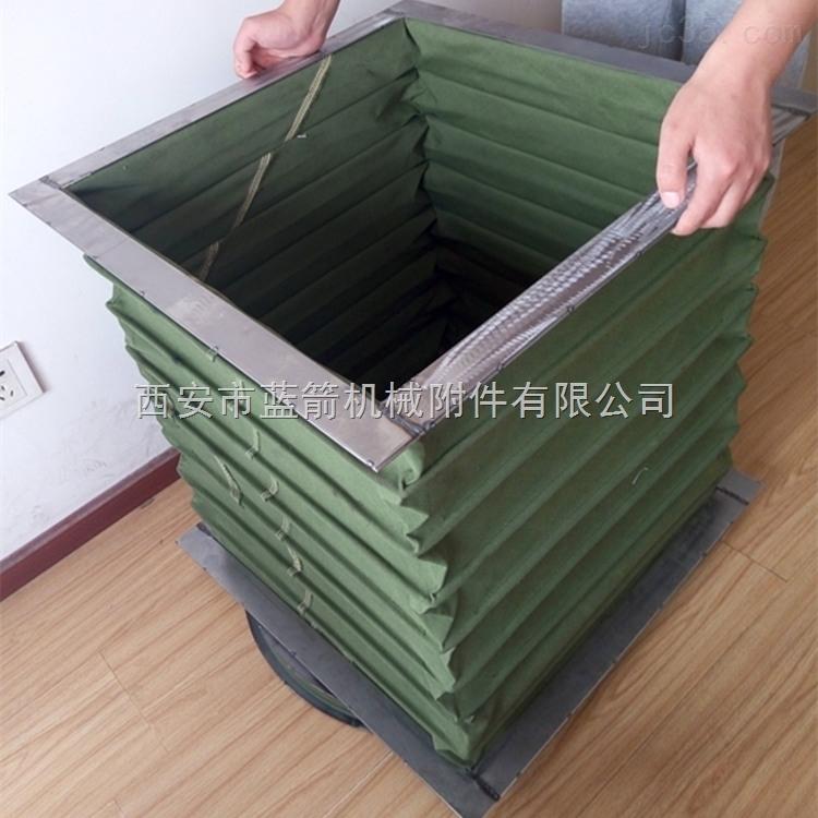 耐腐蚀方形帆布软连接