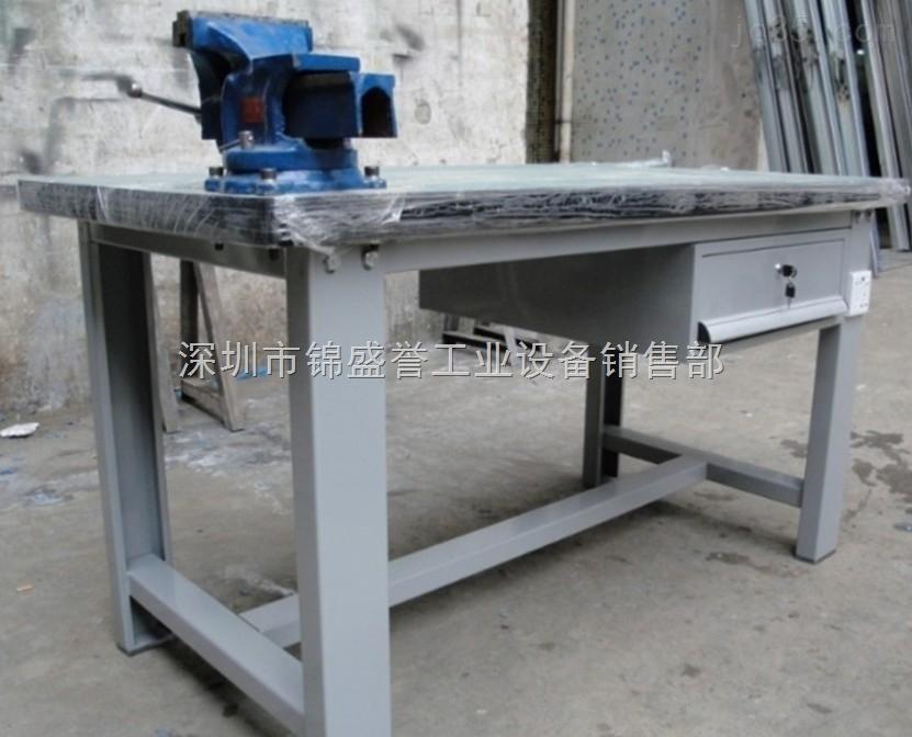 钳工桌。钳工台、江门钢板钳工台,铸铁钳工桌定制