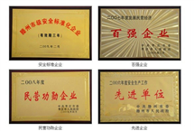 滕州扬力荣誉证书
