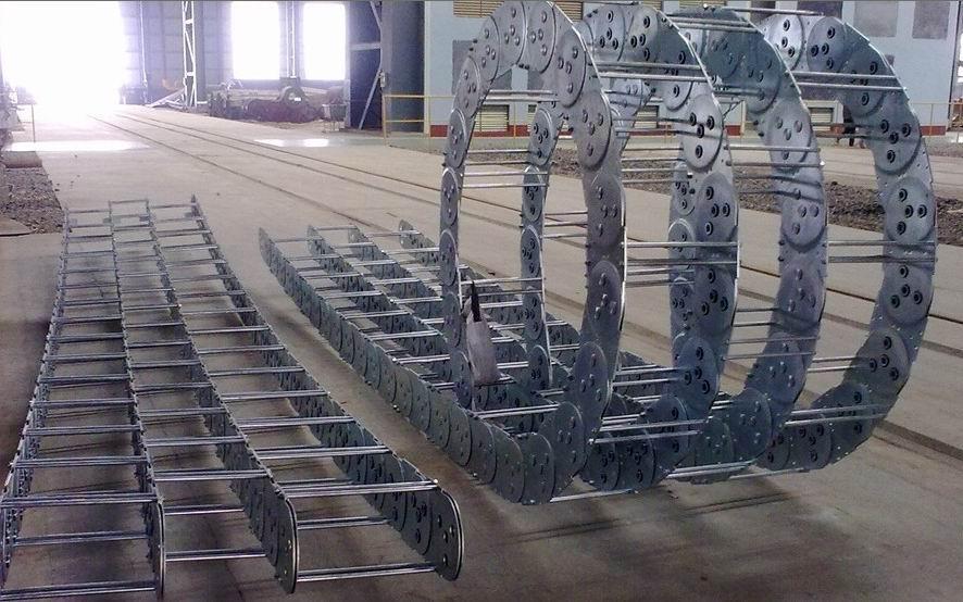 tl95钢铝拖链价钱产品图