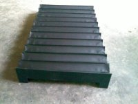 机床伸缩柔性导轨防尘套产品图
